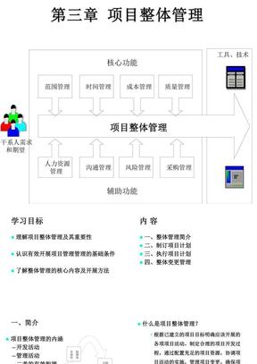 3-第三章-项目整体管理