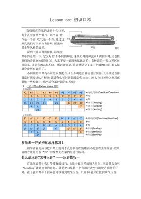 XQJ_十孔口琴入门教程