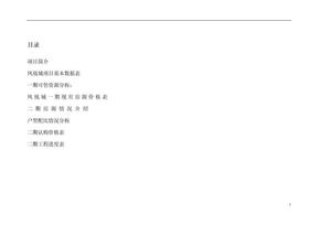凤凰城项目营销策划书