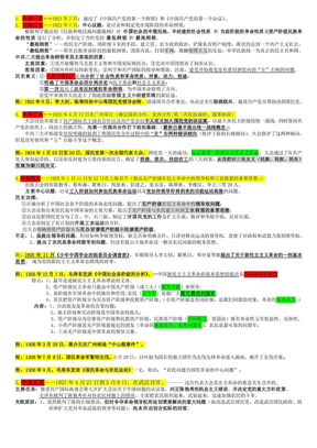 毛泽东思想概论总结