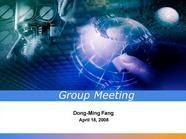 国际会议论文ppt模板