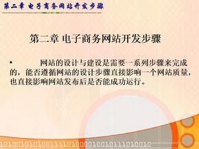 129434353671406250第2章-电子商务网站开发步骤