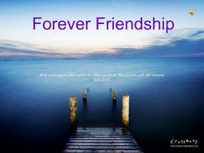 英语课前演讲ppt关于友谊