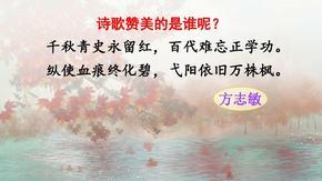部编五年级下册语文12清贫(课件)