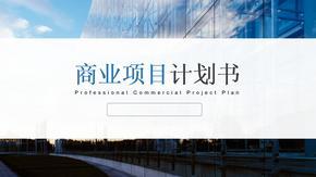 最新创业计划书、商业项目计划书ppt模板