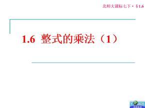 整式的乘法精品课件3