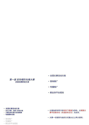 中国移动彩铃业务的合作模式(ppt 78页)