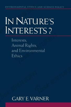 【伦理学】以自然的利益:利益、动物权利与环境伦理