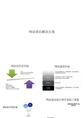 网站建设方案ppt课件(1)