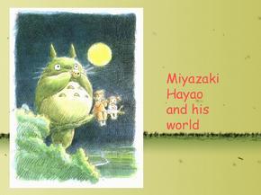宫崎骏龙猫英语课前演讲ppt