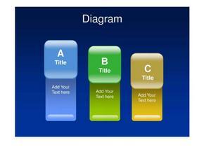 69ppt模板  蓝色梦幻  白色简洁  商务简洁  各种比较图表  柱状图 金字塔图  饼状图.ppt20