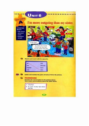 新目标英语八年级上册电子书新目标英语初二上册电子书Unit6