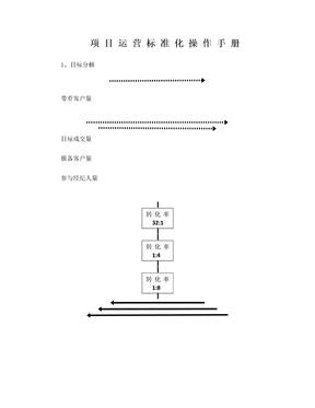 项目运营标准化操作手册