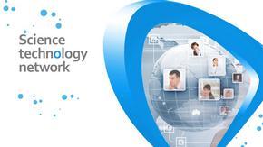 蓝色简洁科技公司创新研讨会议ppt模板
