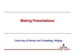 国际性会议报告ppt制作模板和方法概述