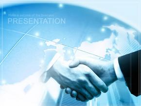 经典PPT模板-商务合作