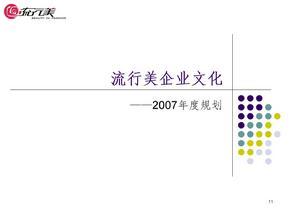 年度企业文化规划ppt课件
