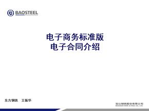 电子商务标准版电子合同介绍.ppt